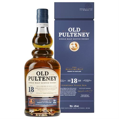 Old Pulteney 18 years old 46% 70cl Image 1