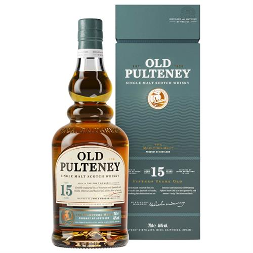 Old Pulteney 15 years old 46% 70cl Image 1