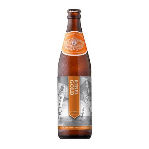 Rebel Gold Cornish Blonde Ale Rebel Brewing Company 3.8% 500ml Image 1