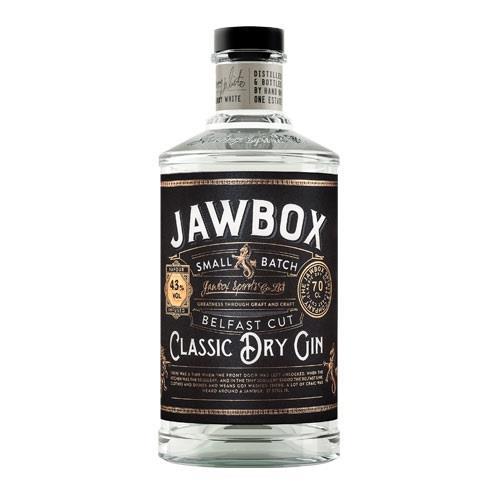 Jawbox Classic Dry Gin Small Batch 43% 70cl Image 1
