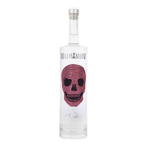 Iordanov Pink Skull Vodka 40% 70cl Image 1