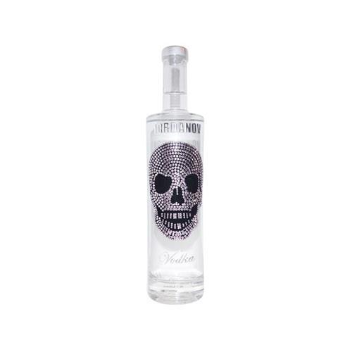 Iordanov Vodka Silver Skull 40% 35cl Image 1