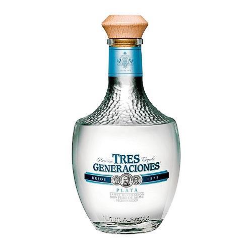 Sauza Tres Generaciones Plata Tequila 38% 70cl Image 1