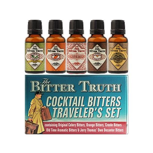 Cocktail Bitters Travellers Set The Bitter Truth 5x20ml Image 1