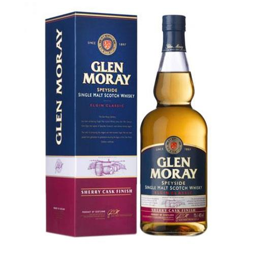 Glen Moray Sherry Cask Finish 40% 70cl Image 1
