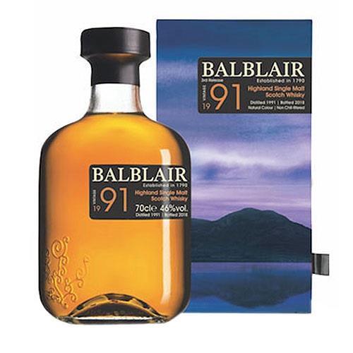 Balblair 1991 3rd release Bottled 2018 4 Image 1