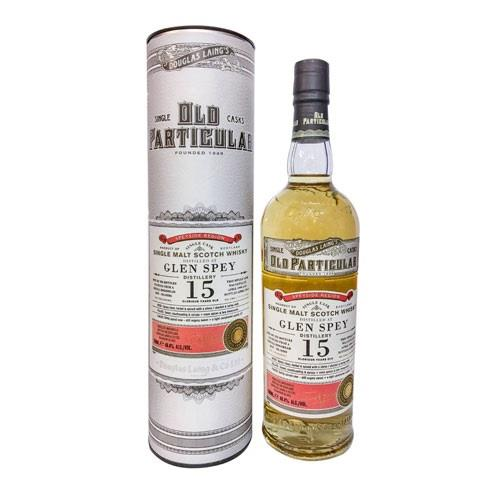Glen Spey 15 years old 1999 Cask No. 102 Image 1