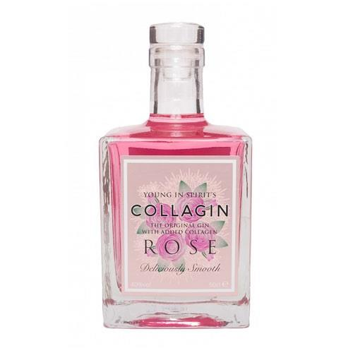 Collagin Pink Rose Gin 50cl Image 1