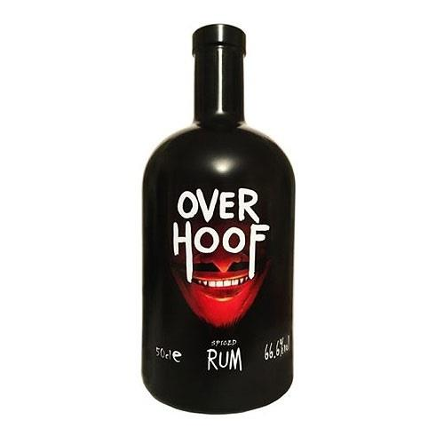 Over Hoof Spiced Rum 66.6% 50cl Image 1