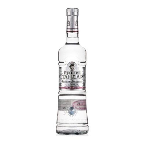 Russian Standard Platinum Vodka 40% 70cl Image 1