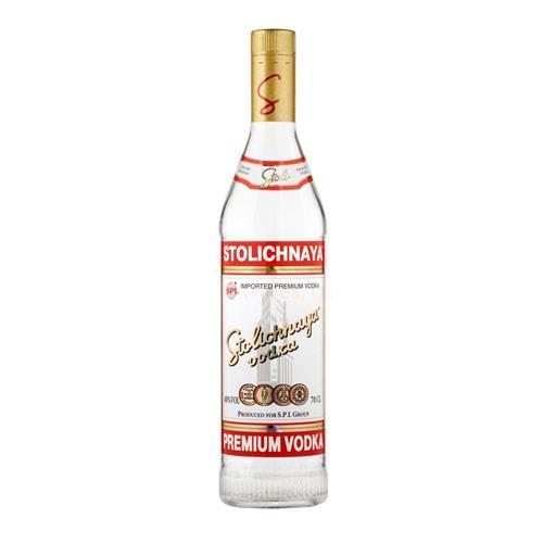 Stolichnaya Red Vodka 40% 70cl Image 1