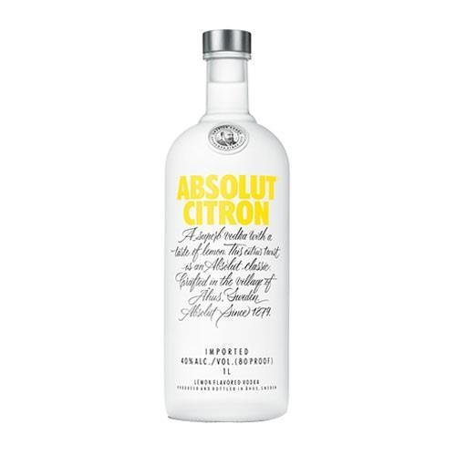 Absolut Citron 40% 70cl Image 1