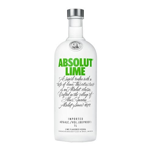 Absolut Lime Vodka 40% 70cl Image 1