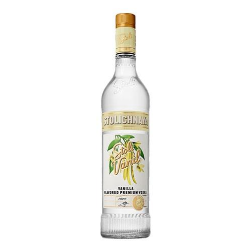Stolichnaya Vanil Vodka 37.5% 70cl Image 1