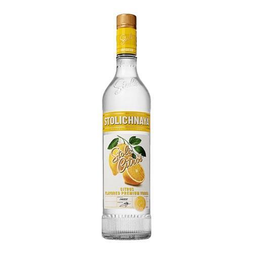 Stolichnaya Citros Vodka (citrus ) 37.5% 70cl Image 1