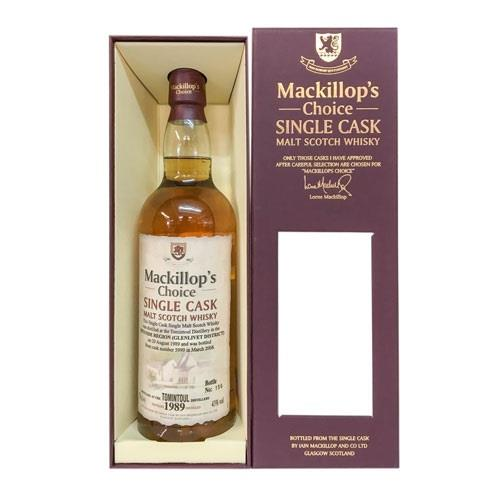 Tomintoul 1989 Cask No5990 43% 70cl Mackillop's Choice Image 1