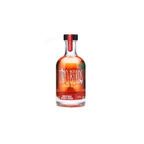 Two Birds Christmas Spice Vodka 32% 20cl Image 1