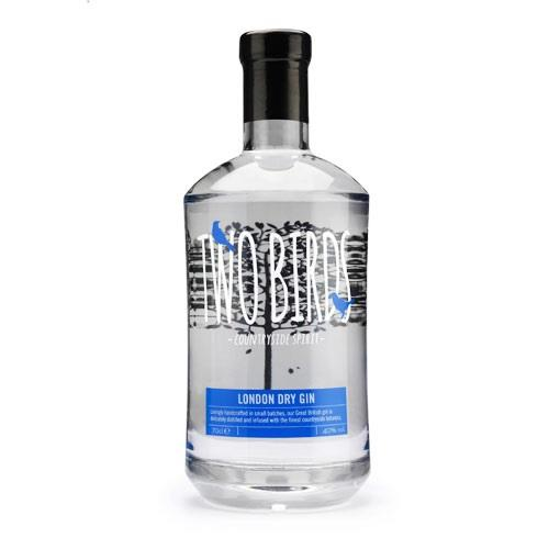 Two Birds London Dry Gin 40% 70cl Image 1