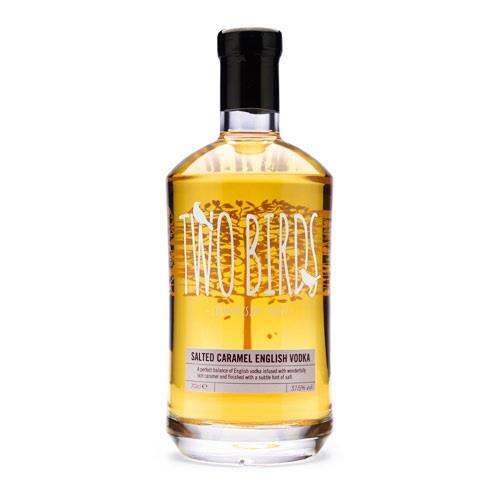 Two Birds Salted Caramel Vodka 37.5% 70cl Image 1