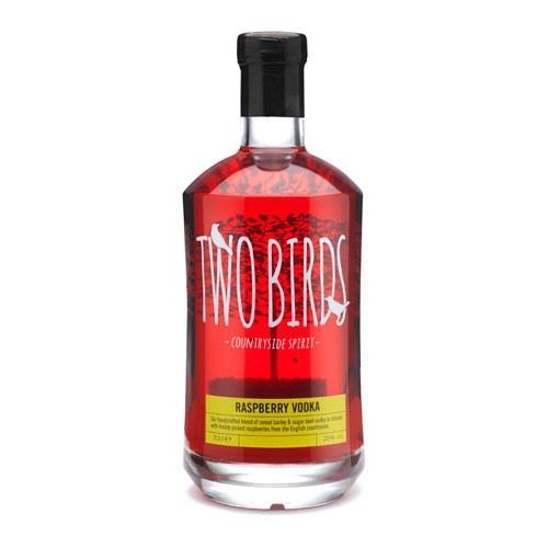 Two Birds Raspberry Vodka 26% 70cl Image 1