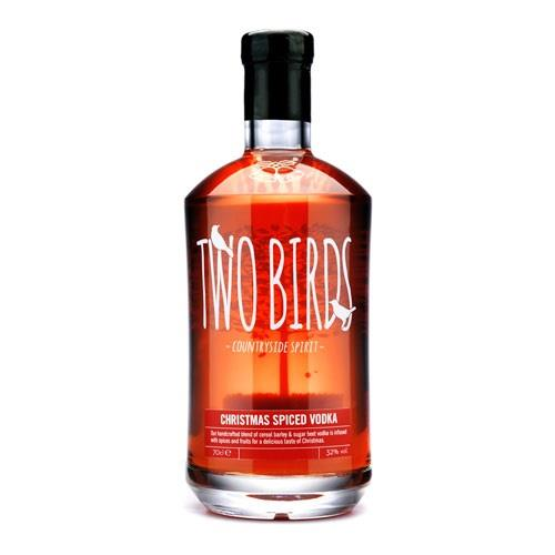 Two Birds Christmas Spice Vodka 32% 70cl Image 1