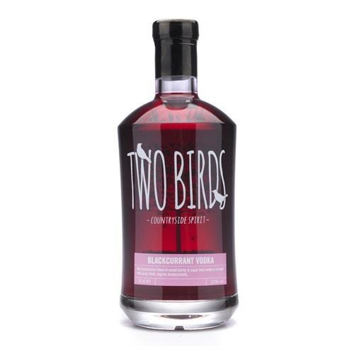 Two Birds Blackcurrant Vodka 32% 70cl Image 1