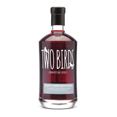 Two Birds Cherry, Almond Vodka 29% 70cl Image 1