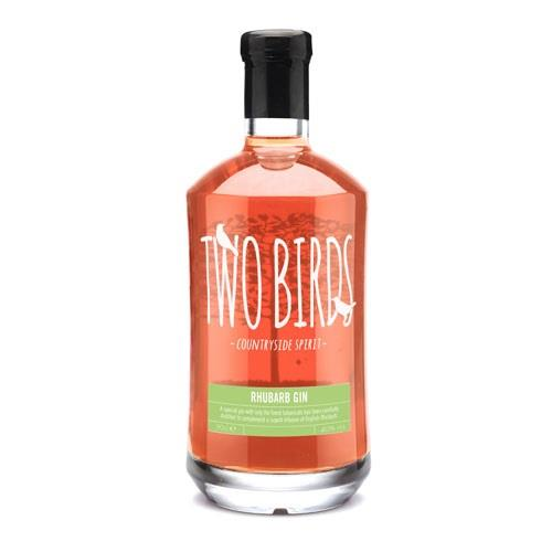 Two Birds Rhubarb Gin 42% 70cl Image 1