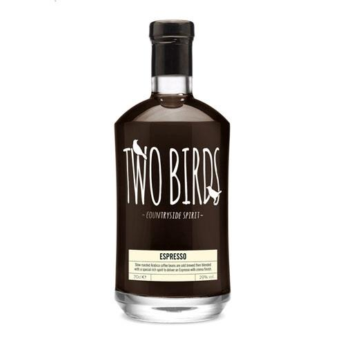 Two Birds Espresso Spirit 29% 70cl Image 1