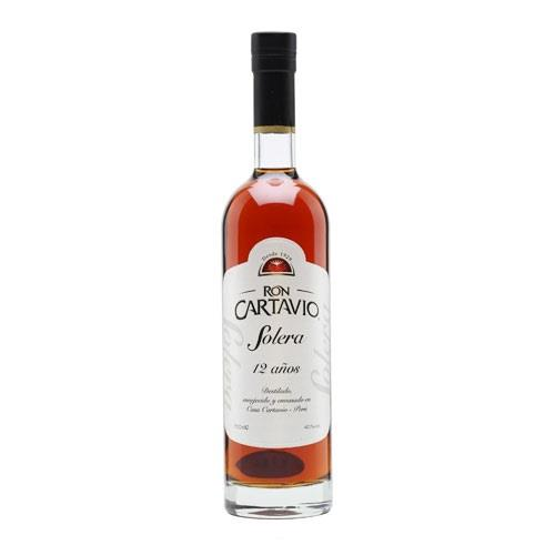 Rum Cartavio Solera 12 years 70cl Image 1