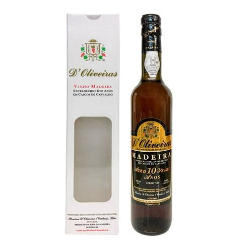 Madeira D'Oliveiras 10 years old Dry 50c Image 1