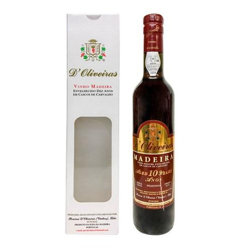Madeira D'Oliveiras 10 Year Old Sweet Sherry 50cl Image 1