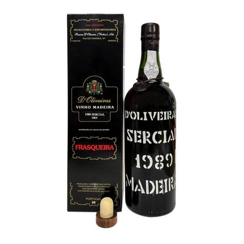 Madeira D'Oliveiras Sercial 1989 75cl Image 1