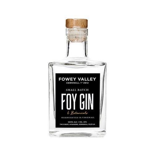 Fowey Valley Foy Small Batch Gin 40% 50c Image 1