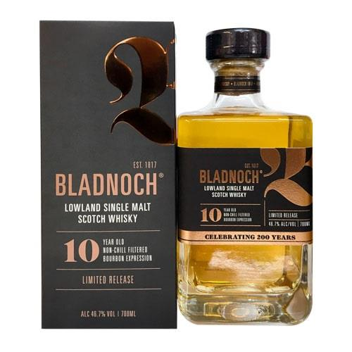 Bladnoch 10 Year Old 46.7% 70cl Image 1