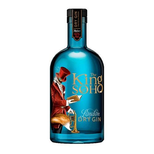 King Of Soho London Dry Gin 70cl Image 1