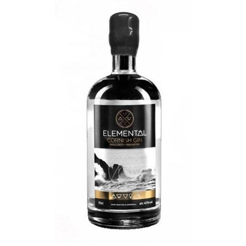 Elemental Cornish Gin Small Batch 70cl Image 1