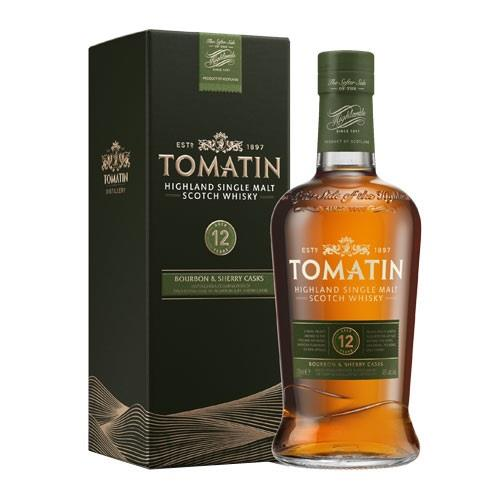 Tomatin 12 Year Old 70cl Image 1