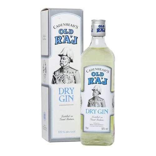 Old Raj Gin 55%vol Cadenheads 70cl Image 1