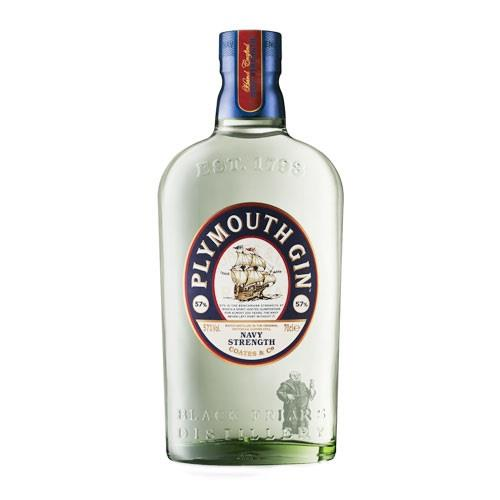 Plymouth Navy Strength Gin 57% 70cl Image 1