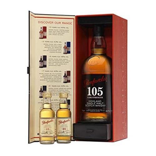 Glenfarclas 105 Tasting Pack 70cl +2x5cl Image 1
