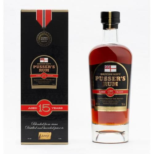 Pussers Rum 15 Year Old New Presentation Image 1