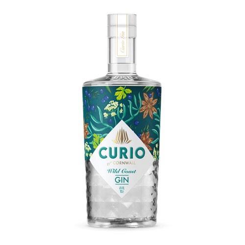CurioWild Coast Gin 70cl Image 1