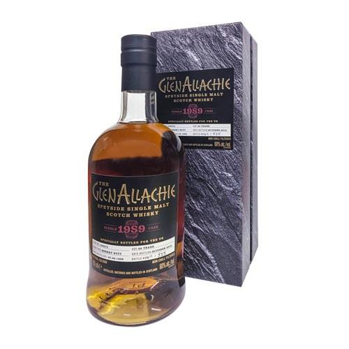 GlenAllachie 1989 Cask No. 100073 29 Year Old 60% 70cl Image 1
