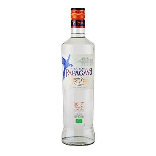 Papagayo Organic White rum 37.5% 70cl Image 1