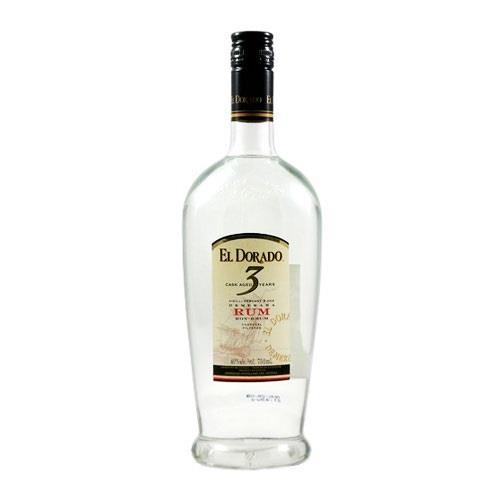 El Dorado 3 years old Blanco Rum 40% 70cl Image 1