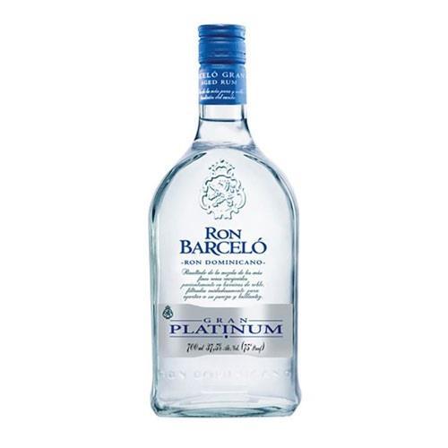 Ron Barcelo Gran Platinum Rum 37.5% 70cl Image 1