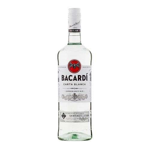 Bacardi Carta Blaca Rum 70cl Image 1