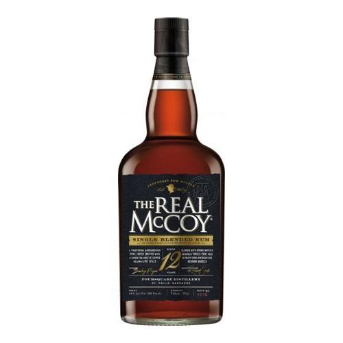 The Real McCoy 12 years old Rum 40% 70cl Image 1