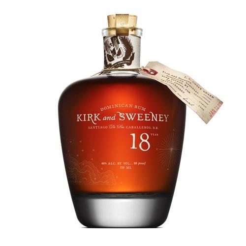 Kirk & Sweeney 18 years old Rum 40% 70cl Image 1